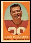 1958 Topps #122  Hugh McElhenny  Front Thumbnail