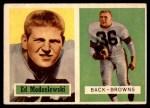 1957 Topps #127  Ed Modzelewski  Front Thumbnail