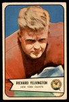 1954 Bowman #77  Richard Yelvington  Front Thumbnail