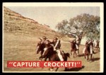 1956 Topps Davy Crockett #49 GRN  Capture Crockett Front Thumbnail