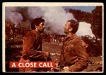 1956 Topps Davy Crockett #22 GRN  A Close Call  Front Thumbnail