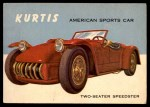 1954 Topps World on Wheels #118   Kurtis Front Thumbnail