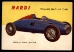 1954 Topps World on Wheels #111   Nardi Front Thumbnail