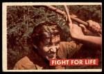1956 Topps Davy Crockett #30 GRN  Fight For Life  Front Thumbnail
