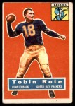 1956 Topps #55  Tobin Rote  Front Thumbnail