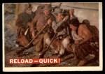 1956 Topps Davy Crockett #66 ORG  Reload Front Thumbnail