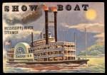 1955 Topps Rails & Sails #147   Show Boat Front Thumbnail