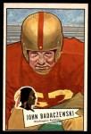 1952 Bowman Large #112  John Badaczewski  Front Thumbnail