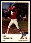 1961 Fleer #180  Jim Colclough  Front Thumbnail