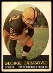 1958 Topps #37  George Tarasovic  Front Thumbnail