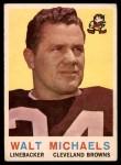 1959 Topps #26  Walt Michaels  Front Thumbnail
