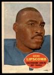 1960 Topps #10  Gene Lipscomb  Front Thumbnail