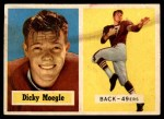 1957 Topps #116  Dick Moegle  Front Thumbnail