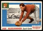 1955 Topps #41  Joe Alexander  Front Thumbnail