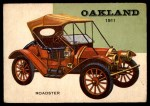 1954 Topps World on Wheels #68   Oakland Roadster 1911 Front Thumbnail