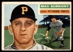 1956 Topps #209  Max Surkont  Front Thumbnail