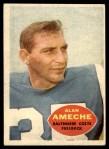 1960 Topps #2  Alan Ameche  Front Thumbnail