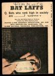 1966 Topps Batman Color #25 CLR  Batman & Robin Back Thumbnail