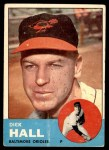 1963 Topps #526  Dick Hall  Front Thumbnail
