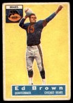 1956 Topps #23  Ed Brown  Front Thumbnail
