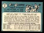 1965 Topps #37  Fred Gladding  Back Thumbnail