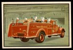 1953 Bowman Firefighters #16   Keep away from Kerosine Lamps Front Thumbnail