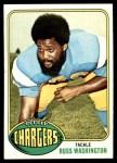 1976 Topps #38  Russ Washington  Front Thumbnail