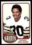 1976 Topps #122  Ernie Jackson  Front Thumbnail