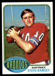 1976 Topps #156  Steve Ramsey  Front Thumbnail