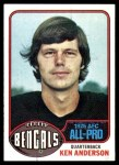 1976 Topps #10  Ken Anderson  Front Thumbnail