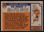 1976 Topps #28  Bob Johnson  Back Thumbnail