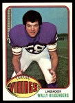 1976 Topps #84  Wally Hilgenberg  Front Thumbnail