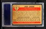 1953 Bowman B&W #47  Jack Lohrke  Back Thumbnail