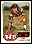 1976 Topps #110  Tom Mack  Front Thumbnail