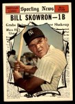 1961 Topps #568   -  Bill Skowron All-Star Front Thumbnail