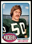 1976 Topps #141  Jim Carter  Front Thumbnail