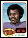 1976 Topps #150  Alan Page  Front Thumbnail