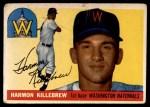 1955 Topps #124  Harmon Killebrew  Front Thumbnail