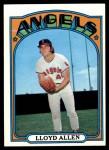 1972 Topps #102  Lloyd Allen  Front Thumbnail
