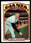 1972 Topps #35  Jerry Johnson  Front Thumbnail