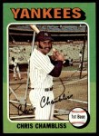 1975 Topps #585  Chris Chambliss  Front Thumbnail