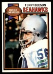 1979 Topps #138  Terry Beeson  Front Thumbnail