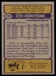 1979 Topps #144  Otis Armstrong  Back Thumbnail