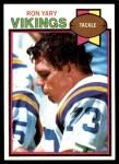 1979 Topps #298  Ron Yary  Front Thumbnail