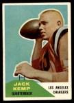1960 Fleer #124  Jack Kemp  Front Thumbnail