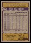 1979 Topps #305  Fred Biletnikoff  Back Thumbnail
