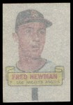 1966 Topps Rub Off #70   Fred Newman   Back Thumbnail