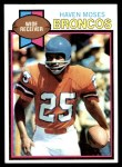 1979 Topps #313  Haven Moses  Front Thumbnail
