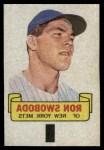 1966 Topps Rub Offs   Ron Swoboda   Front Thumbnail