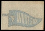 1966 Topps Rub Offs    Chicago White Sox Pennant Back Thumbnail
